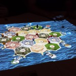 Projected Catan Board