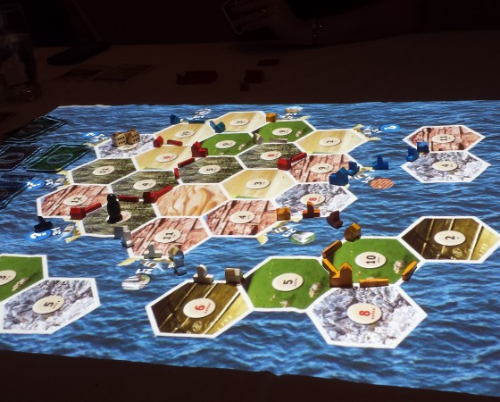 Settlers of Catan Projection Board